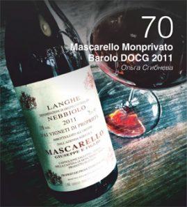 Code de Vino, выпуск 14/20/2017: в журнале: Mascarello Monprivato Barolo. Беседовала Ольга Сгибнева