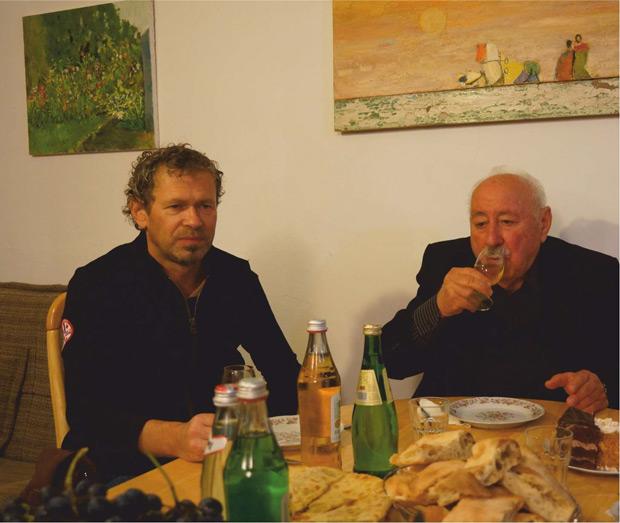 Гиви Чагелишвили. Винодел Сталина. На фото с Олегом Чернэ