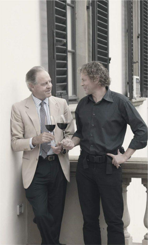 Беседа с маркизом Пьером Антинори