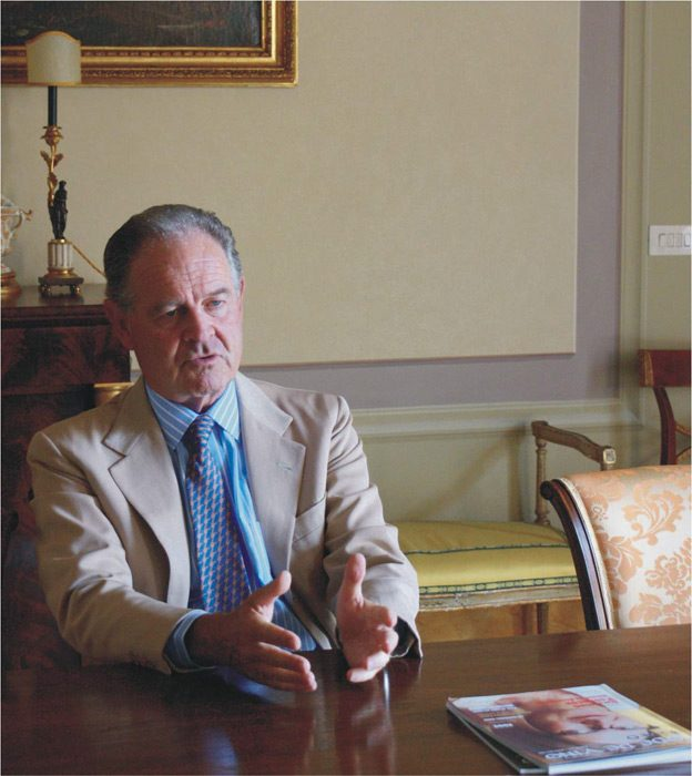 A Talk with Marchese Piero Antinori, Interview by Oleg Cherne