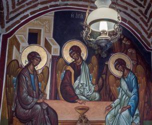 Святые покровители вина на Афоне