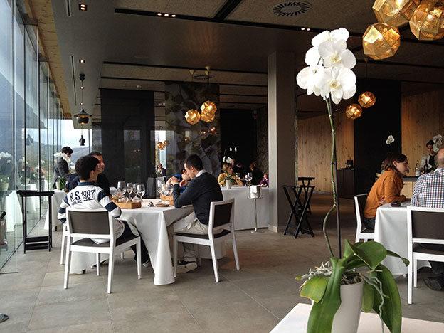 azurmendi пространство ресторана
