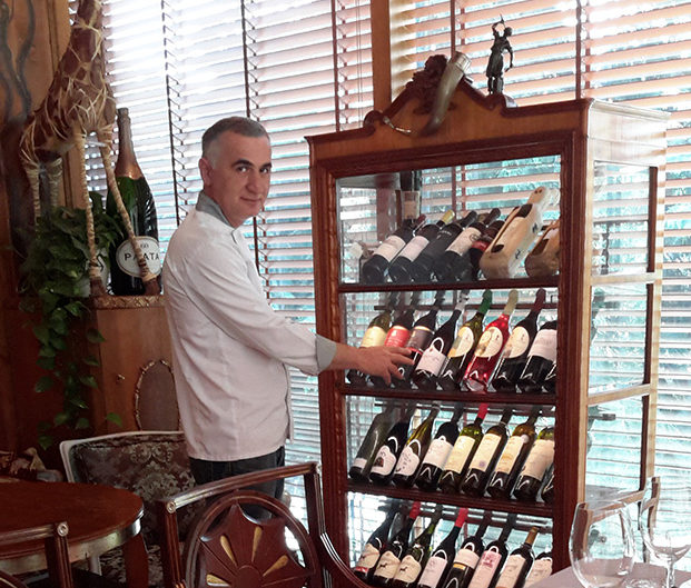 Ресторан Vinotel. Тбилиси, Грузия. Шеф-повар