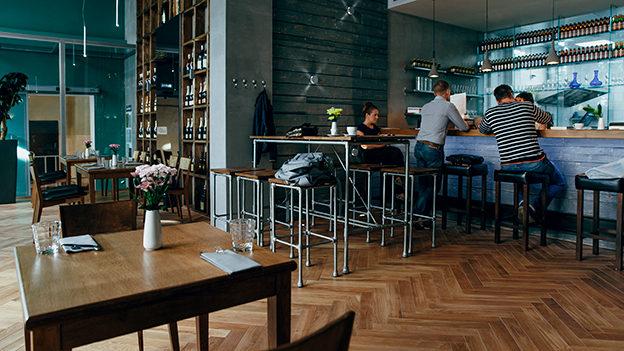 Винный ресторан. Москва. Brix II