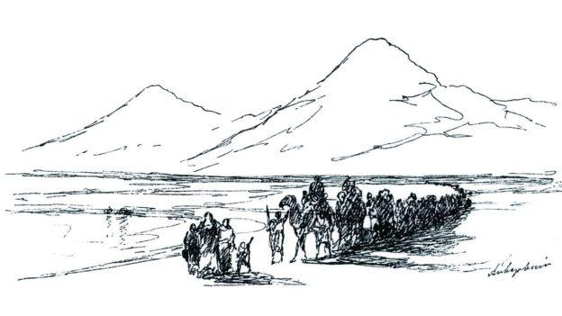 Иван Константинович Айвазовский. Сошествие Ноя с Арарата