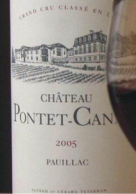 Chateau Pontet-Canet 2005. История одной бутылки. Этикетка