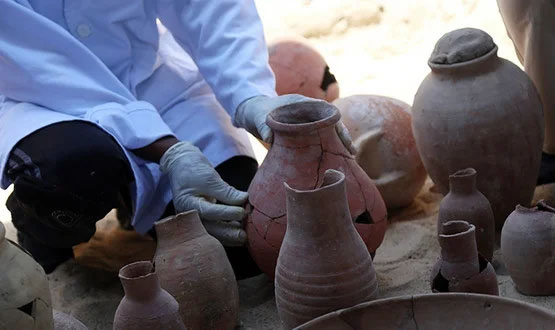 Древнее винное хранилище обнаружили в Египте