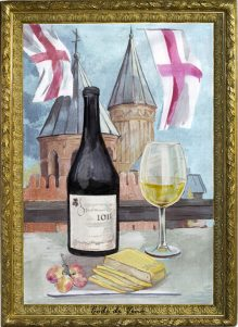 Грузинское монастырское вино Хихви