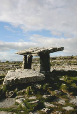 Some researchers attribute the megaliths to the Celtic culture