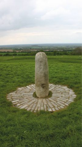 The Hill of Tara is a ridge located near river Boyne in Ireland