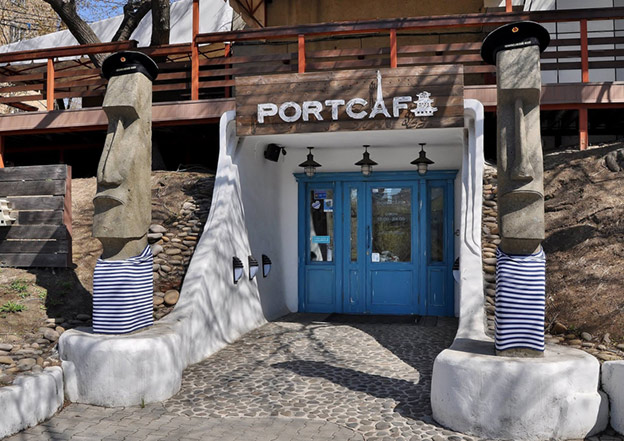 Port Café, Far Eastern cuisine. Location: Russia, Vladivostok