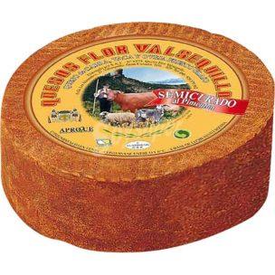 Подкопчённый сыр Quesos Flor Valsequillo