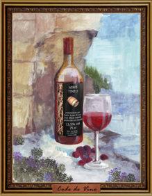 Vino Tinto 2015, Pedro Julian Rivero. Вино Тинто 2015, Педро Хулиан Риверо