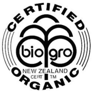 Biogro, Новая Зеландия