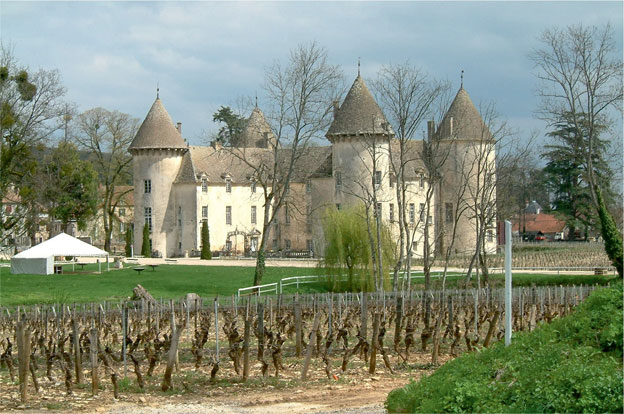Domaine Chandon de Briailles, History of the Place