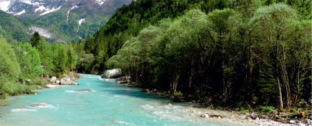 SočaRiver (Isonzo in Italian)