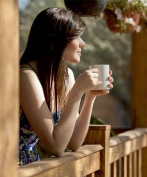 Coffee break: Irish coffee.