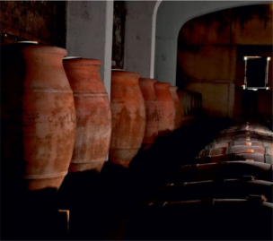 Wine in Clay Amphoras Domaine Viret